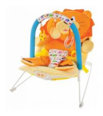 Кресло качалка Жирафики Львенок 939433