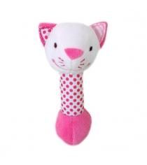 Мягкая игрушка погремушка Жирафики Кошечка Кити 939449