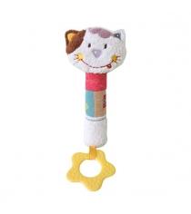 Игрушка с прорезывателем Жирафики Кошечка Мими 939466