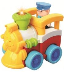 Радиоуправляемая игрушка Жирафики паровозик 939501