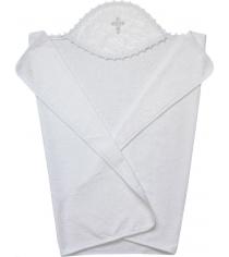 Крестильное полотенце Золотой гусь махровое 110х75 см 3201