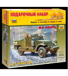 Модель для склеивания Zvezda Бтр м3 Скаут 3519П