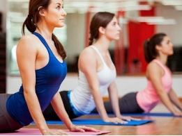 Фитнес аэробика йога