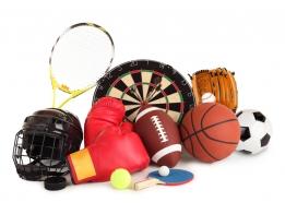 Аксессуары к товарам для спорта