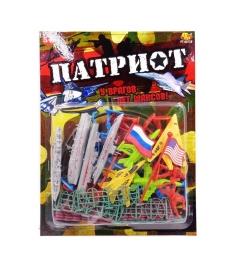 Игровой набор Патриот 34 предмета ABtoys PT-00738