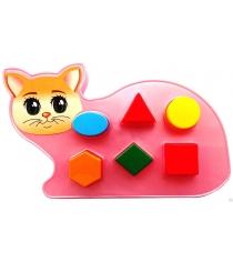 Развивающая игра сортер котик Аэлита Р77312