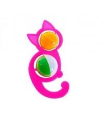 Погремушка кошечка розовая Аэлита Р69347