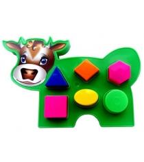 Игра развивающая коровка Аэлита 2С466