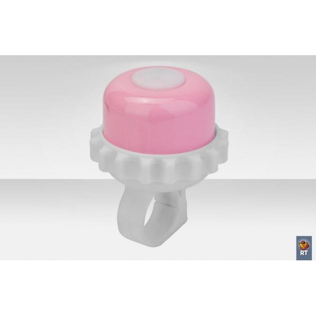 Звонок алюминий 23р 06 бело розовый 4218