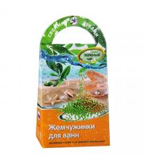 Набор для мыловарения Аромафабрика жемчужинки для ванн зеленый чай С0807