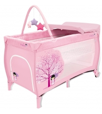 Манеж Asalvo travel cot mix plus japanese 12630