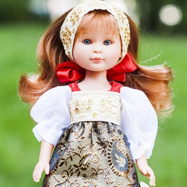 Кукла селия в русском наряде № 3 30 см Asi 109902