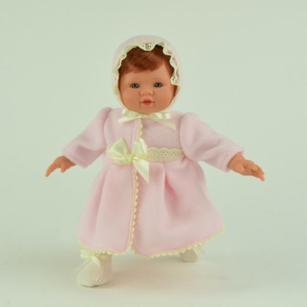 Кукла тете в розовом пальто 36 см Asi 142330