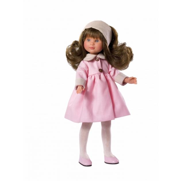 Кукла селия в розовом пальто 30 см Asi 163350