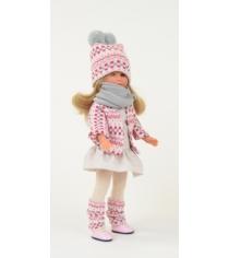 Кукла селия в теплой шапке и шарфе 30 см Asi 164100