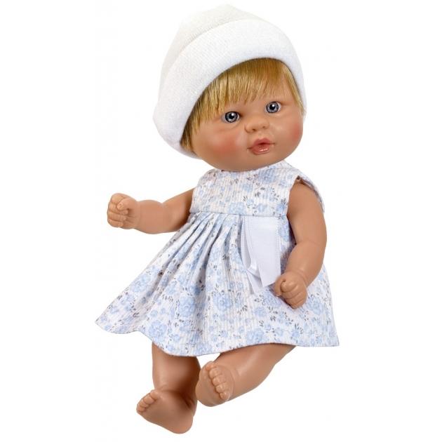 Кукла пупсик в белой шапочке 20 см Asi 2110004