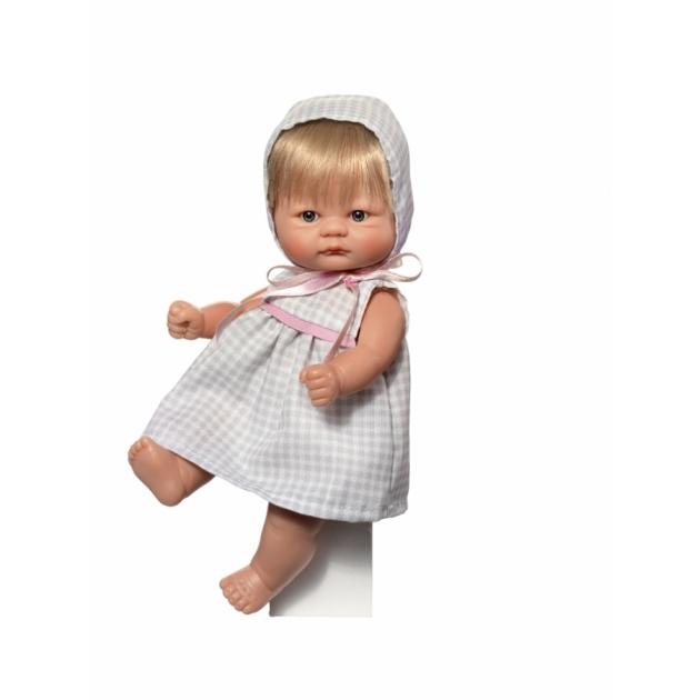 Кукла пупсик в клетчатом платьице 20 см Asi 2113056