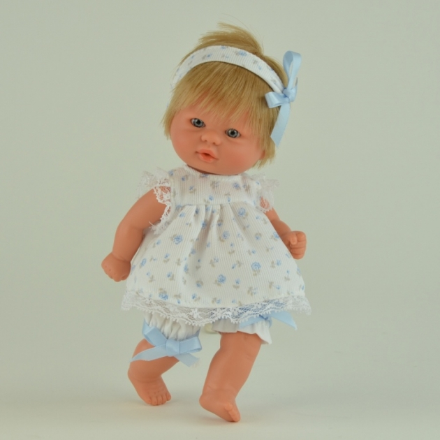 Кукла пупсик в светлом костюмчике 20 см Asi 2114022