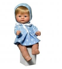 Кукла пупсик в голубом костюмчике 20 см Asi 2114057