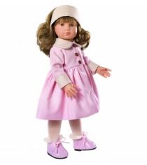 Кукла нелли в розовом пальто 43 см Asi 253350