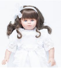 Кукла пепа в белом кружевном платье 60 см Asi 280050C