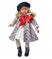 Кукла пепа в клетчатом пальто 60 см Asi 283410