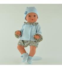 Кукла коки в голубом костюмчике 36 см Asi 403201