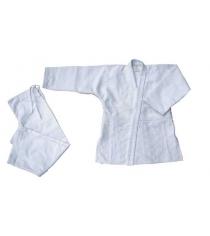 Кимоно для дзюдо Atemi белое рост 130