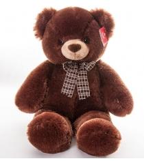 Мягкая игрушка Aurora Медведь коричневый с бантом 69 см 30-349