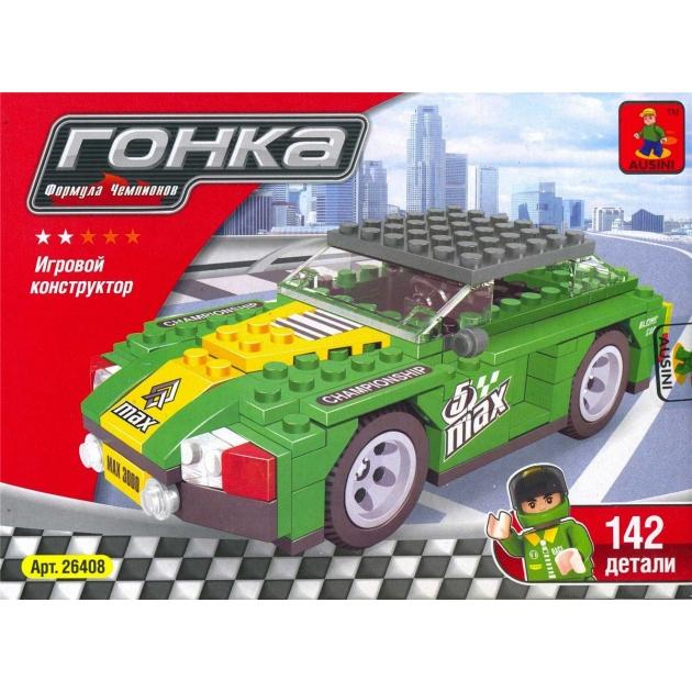 Конструктор гонка формула чемпиона 142 детали Ausini Г54837