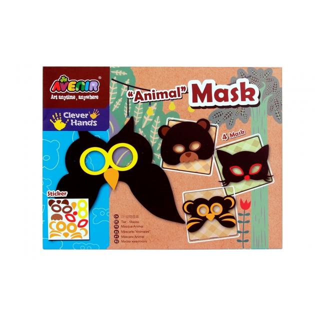 Набор для творчества Avenir Создай маску Животные CH1052