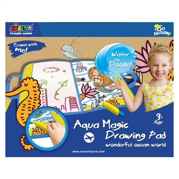 Набор для рисования водой Avenir Удивительный мир океана GH4025