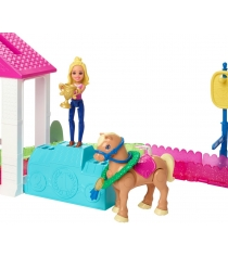 Скачки Barbie FHV66
