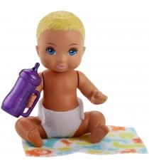 Кукла Barbie ребенок и набор аксессуаров FHY80
