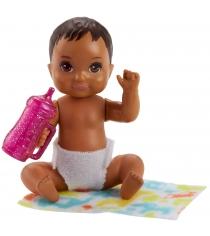 Кукла Barbie ребенок и набор аксессуаров FHY81