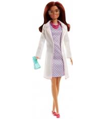 Кукла Barbie учёный с колбой FJB09