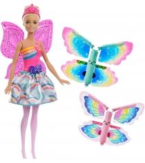 Кукла Barbie фея с летающими крыльями FRB08