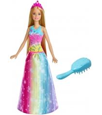 Кукла Barbie принцесса радужной бухты FRB12