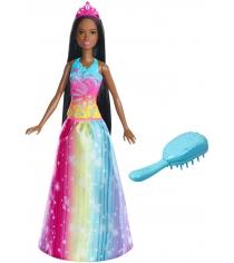Кукла Barbie с длинными волосами брюнетка FXC81