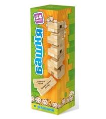 Игра башня с заданиями для детей Бэмби 7746