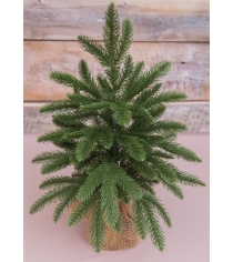 Искусственная елка Black Box чемберлен 45 см в мешочке зеленая