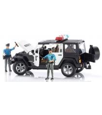 Полицейский джип Jeep Wrangler Unlimited Rubicon с фигуркой и набор полицейского 02-526 + 60-050
