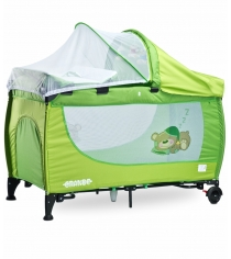 Манеж-кровать Caretero Grande Green зеленый TERO-351