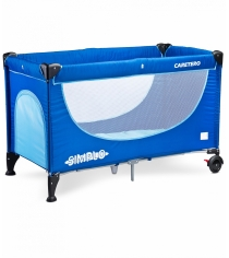 Манеж-кровать Caretero Simplo Blue синий TERO-39