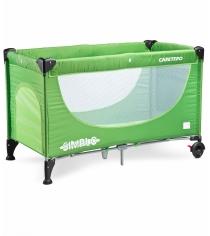 Манеж-кровать Caretero Simplo Green зеленый TERO-390