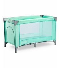 Манеж-кровать Caretero Basic Green зеленый TERO-3943