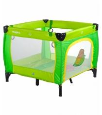 Манеж Caretero Quadra Green зеленый TERO-3991