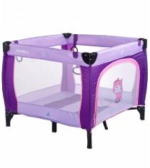 Манеж Caretero Quadra Purple фиолетовый TERO-3992