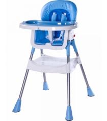 Стульчик для кормления Caretero Pop Blue синий TERO-7261