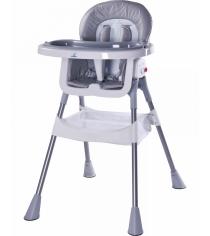 Стульчик для кормления Caretero Pop Grey серый TERO-7265